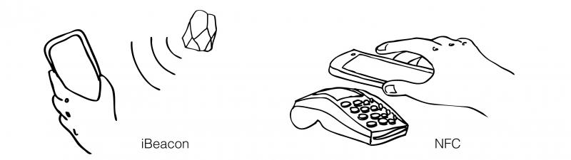 Comprendre la différence entre iBeacon et NFC