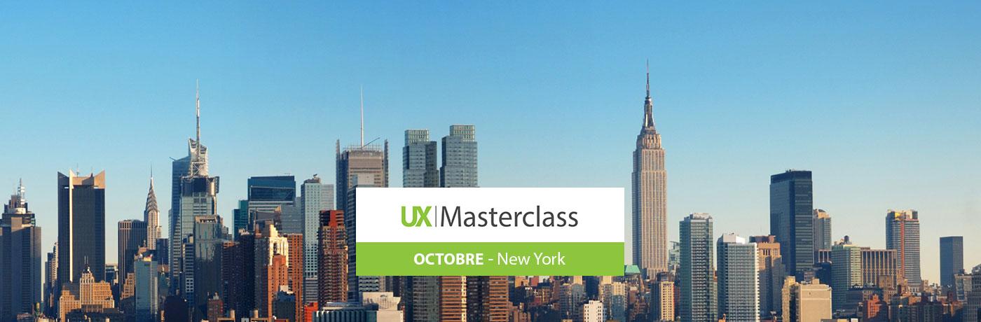 UX et étude marché à l'UX masterclass de New York