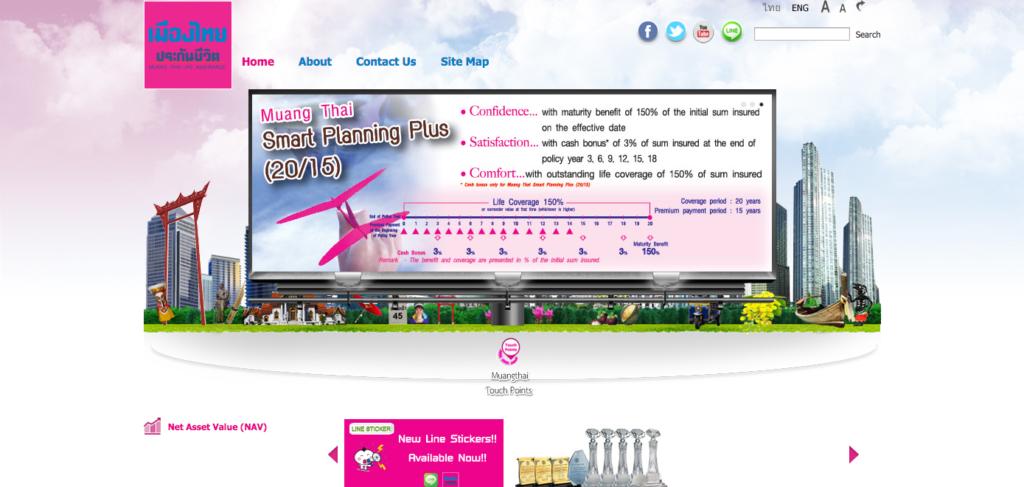 design en Thaïlande