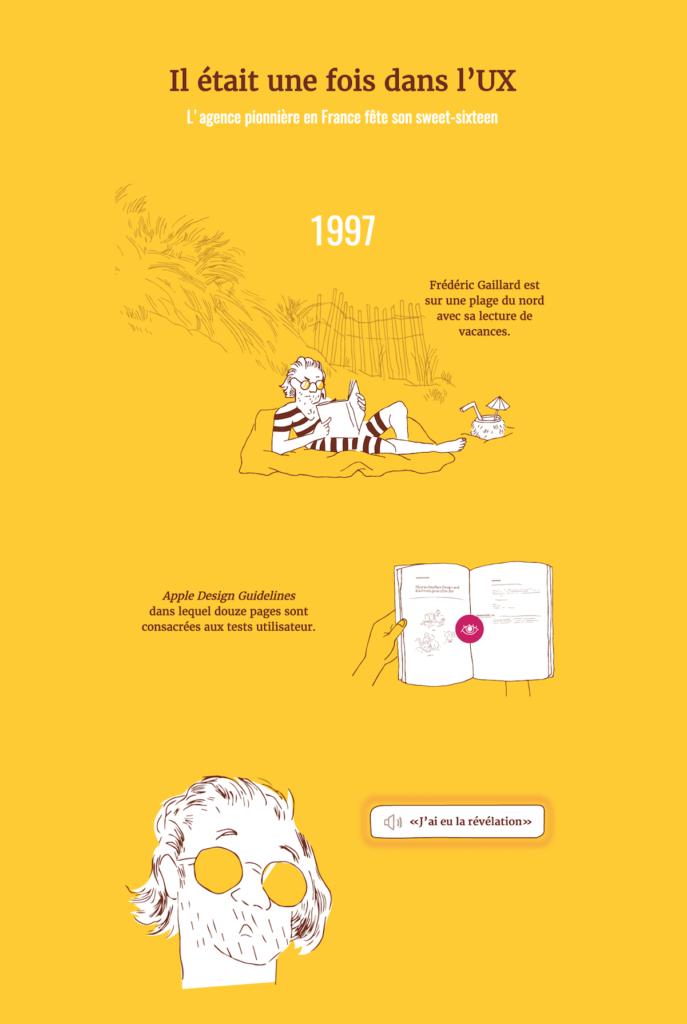 UX histoire storytelling