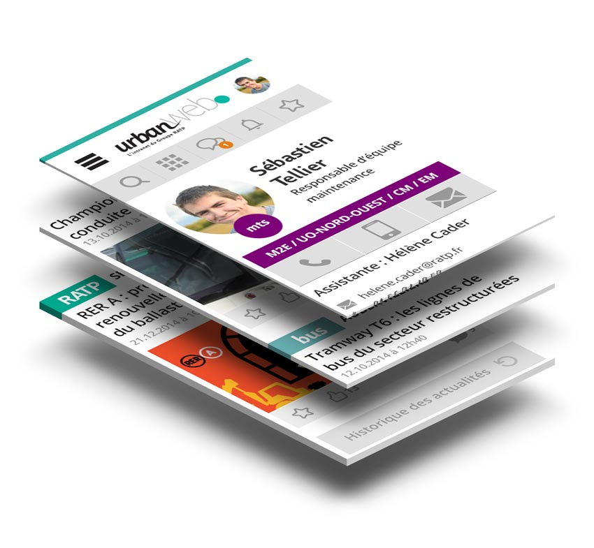 case study ux wireframe maquette prototype application ratp