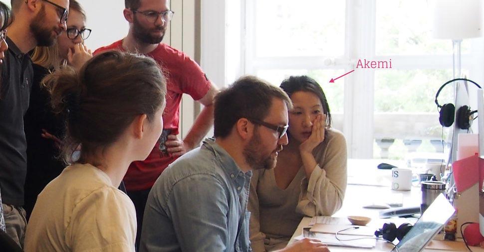 akemi tazaki prend la direction equipe design