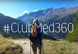 tournage trek nature club med 360