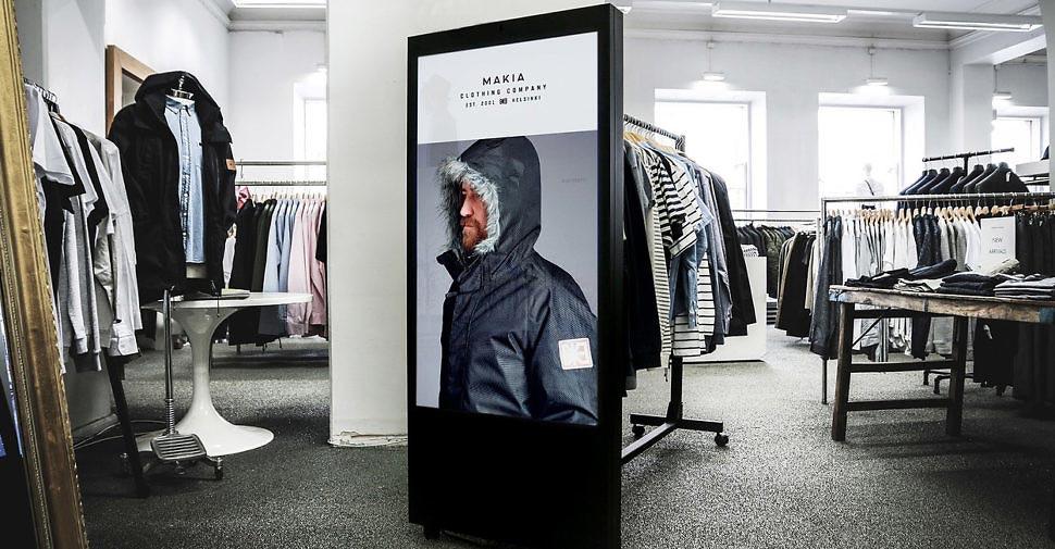 digitalisation parcours magasin