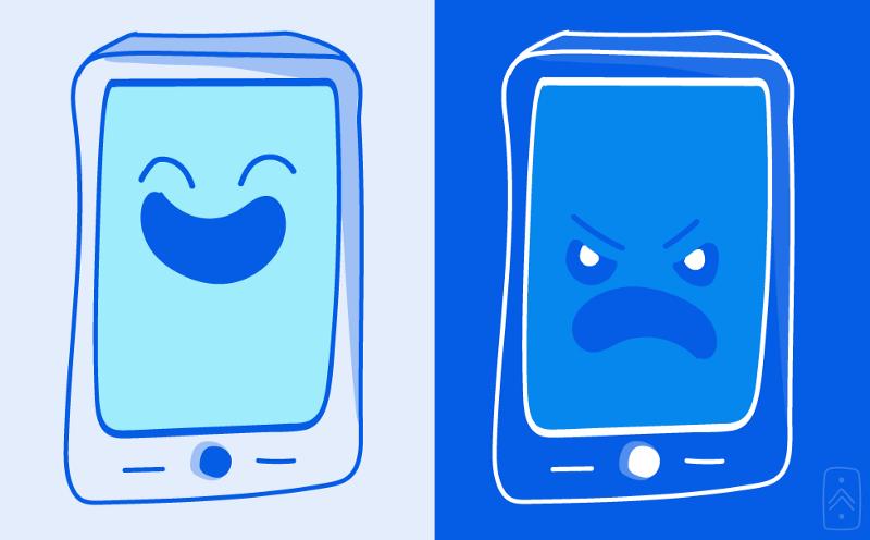 application mobile heureux malheureux