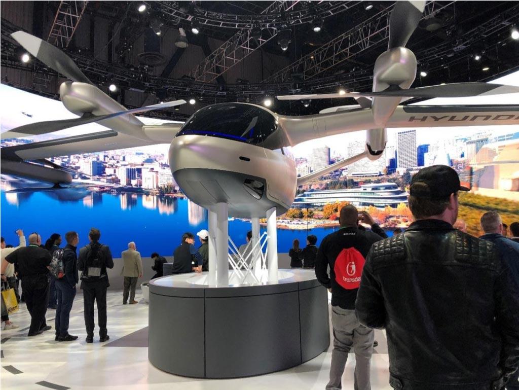 ces 2020 salon smart city drone geant